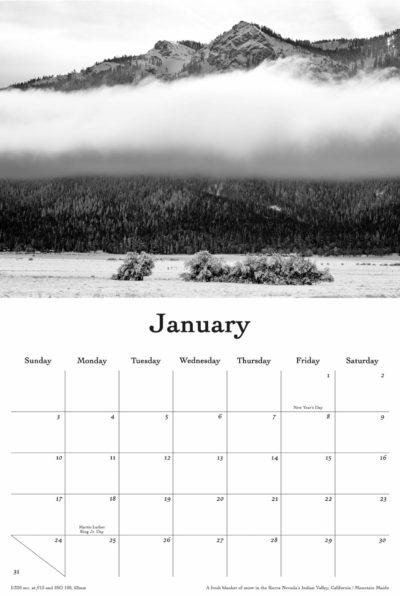 2021 Calendar January